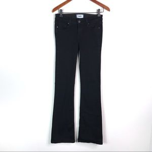 PAIGE Black Skyline Boot Cut Jeans